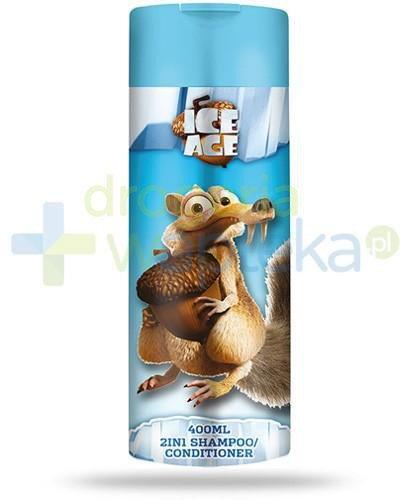 Corsair Epoka lodowcowa 2w1 szampon i odżywka do włosów 400 ml  whited-out