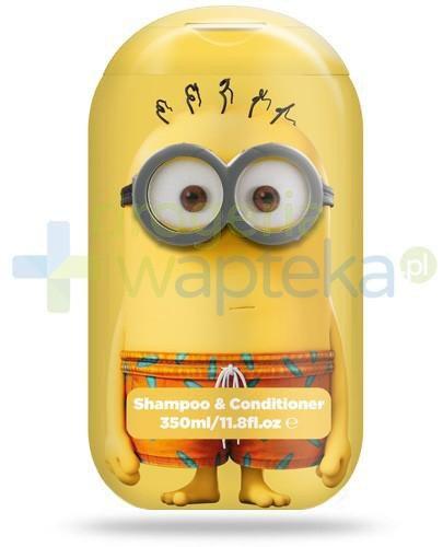 Corsair Minionki 2w1 szampon i odżywka do włosów 350 ml  whited-out
