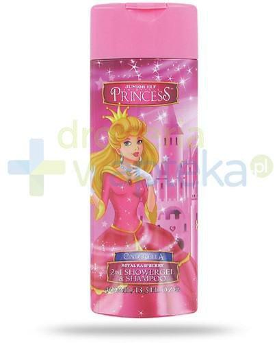 Corsair Princess Kopciuszek 2w1 żel pod prysznic i szampon do włosów 400 ml