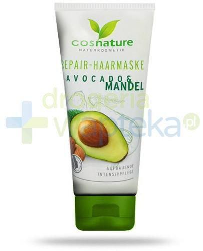 Avocado & Mandel naturalna maska regenerująca do włosów z awokado i migdałami 100 ml C...  whited-out