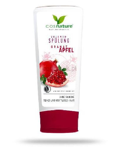 Cosnature Naturalna odżywka zwiększająca objętość włosów z owocem granatu 200 ml