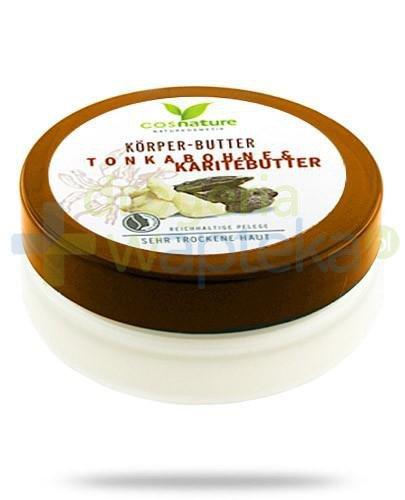 Tonkabohne & Karitebutter naturalne odżywcze masło do ciała z masłem shea i ton...  whited-out