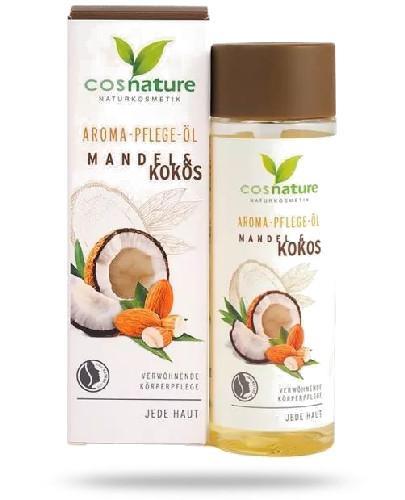 Cosnature Naturalny aromatyczny migdałowo-kokosowy olejek do pielęgnacji ciała 100 ml