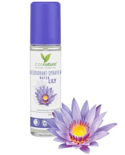 Cosnature naturalny dezodorant w sprayu z lilią wodną 75 ml [DARMOWA DOSTAWA]