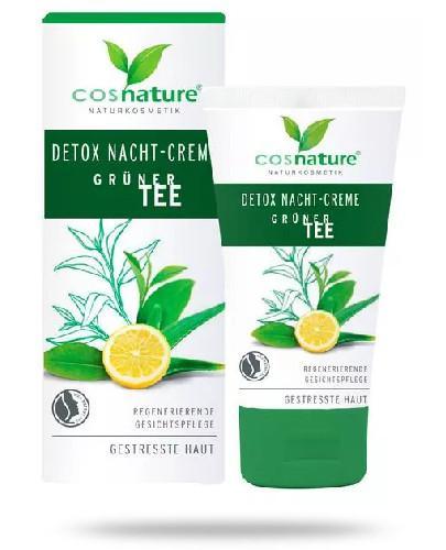 Cosnature Naturalny krem detox na dzień z zieloną herbatą 50 ml