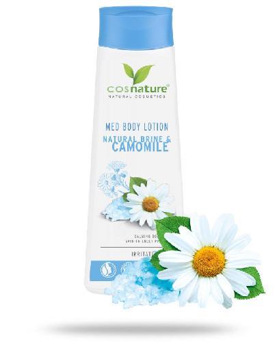 Cosnature Naturalny odżywczy balsam do ciała z solanką i rumiankiem MED 250 ml