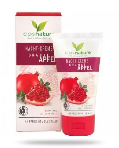 Cosnature Naturalny odżywczy krem na noc z owocem granatu 50 ml