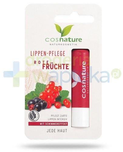 Rote Fruchte naturalny balsam ochronny do ust z ekstraktem z czerwonych owoców 4,8 g CosNature