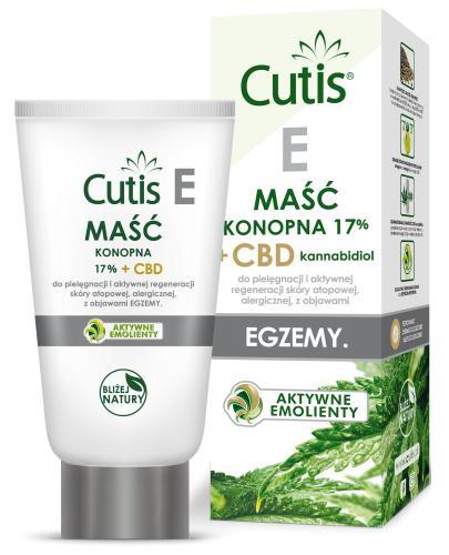 Cutis E maść konopna 17% + CBD do pielęgnacji i aktywnej regeneracji skóry atopowej, a...