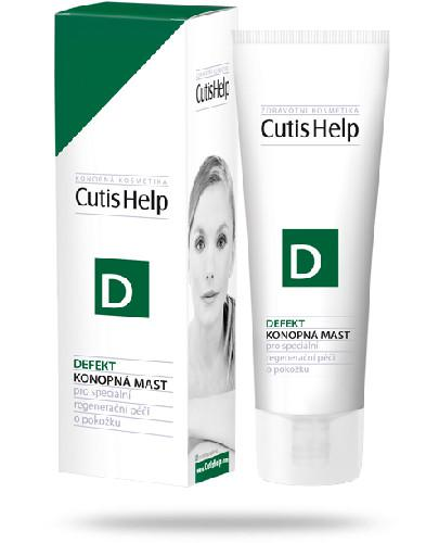 Cutishelp D maść konopna do specjalistycznej pielęgnacji skóry 50 ml