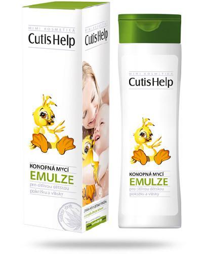 CutisHelp Mimi emulsja do mycia ciała i włosów 200 ml