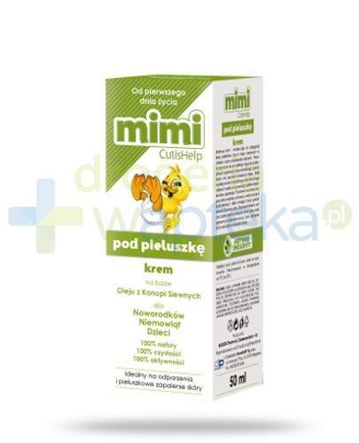 CutisHelp Mimi pod pieluszkę krem na odparzenia 50 ml