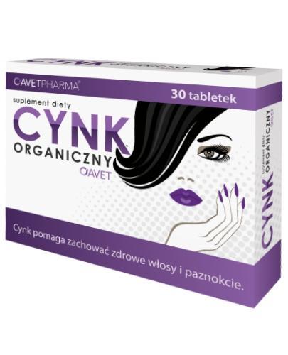 Cynk organiczny Avet 30 tabletek