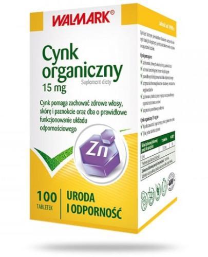 Cynk Walmark 0,015g 100 tabletek
