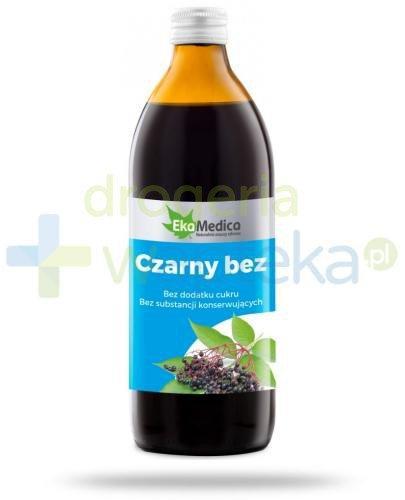 EkaMedica Czarny Bez sok pasteryzowany 500 ml