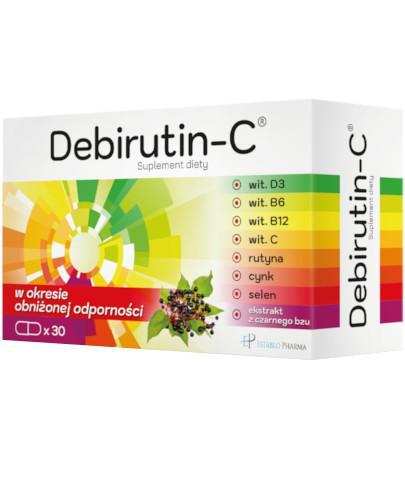 Debirutin-C 30 kapsułek