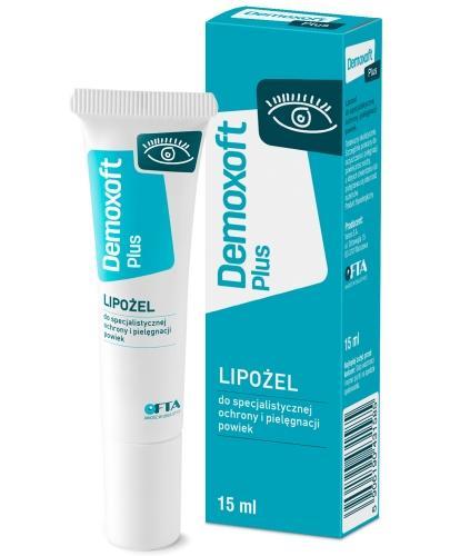 Demoxoft Plus lipożel do pielęgnacji oczu 15 ml