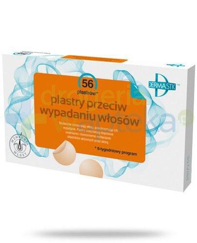 Dermastic plastry przeciw wypadaniu włosów 56 sztuk  whited-out