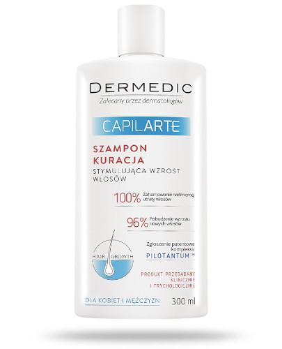 Dermedic CapilArte szampon kuracja stymulująca wzrost włosów 300 ml