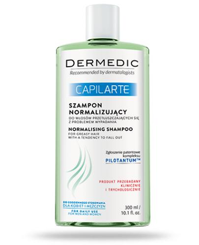 Dermedic Capilarte szampon normalizujący do włosów przetłuszczających się z probleme...