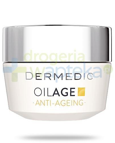 Dermedic Oilage Anti-Ageing naprawczy krem na noc przywracający gęstość skóry 50 g
