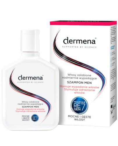 Dermena Men szampon do włosów osłabionych, nadmiernie wypadających 200 ml