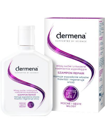 Dermena Repair szampon do włosów suchych i zniszczonych, nadmiernie wypadających 200 ml