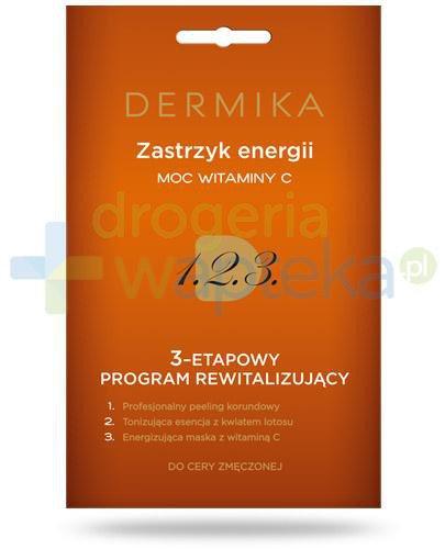 Dermika Zastrzyk energii moc witaminy C 3-etapowy program rewitalizujący do cery zmęczon...  whited-out