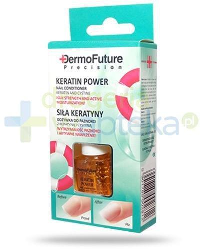 Dermo Future Keratin Power odżywka z keratyną i cystyną do paznokci 9 ml