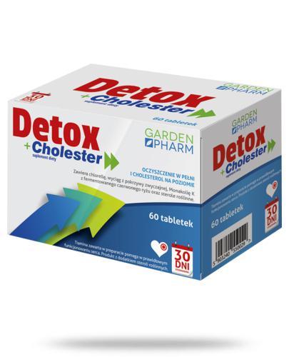 Detox+ Cholester 60 tabletek