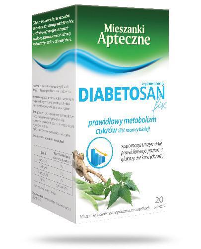 Diabetosan Fix 20 saszetek