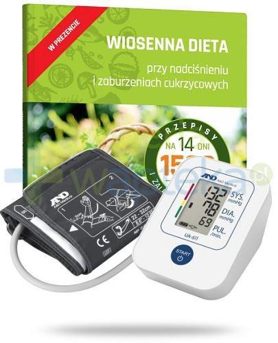 Diagnosis AND UA-611 ciśnieniomierz naramienny automatyczny 1 sztuka + Wiosenna Dieta prz...