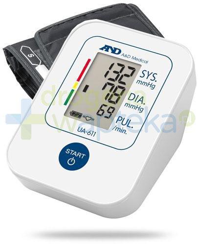 Diagnosis AND UA-611 ciśnieniomierz naramienny automatyczny 1 sztuka