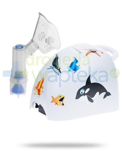 Diagnostic Kids inhalator kompresorowo tłokowy 1 sztuka + Zabłocka mgiełka solankowa jo...