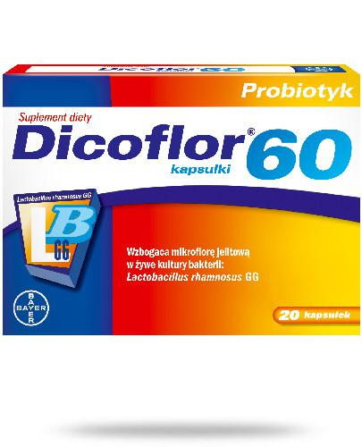 Dicoflor 60 20 kapsułek