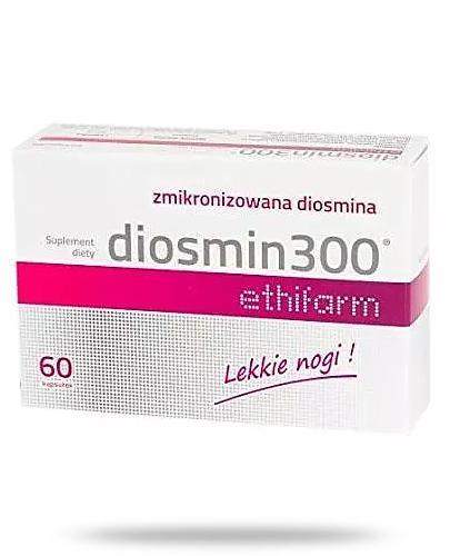 Diosmin 300 Ethifarm® 60 kapsułek