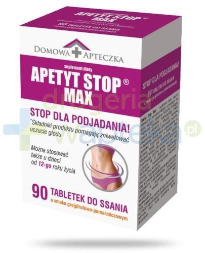 Domowa Apteczka Apetyt Stop Max 90 tabletek
