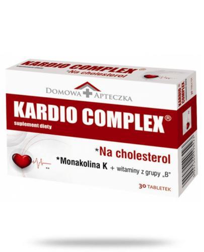 Domowa Apteczka Kardio Complex na cholesterol 30 tabletek