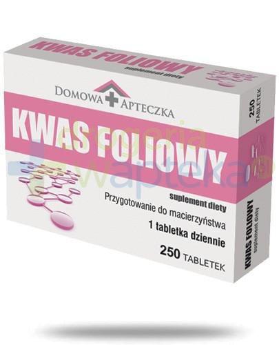 Domowa Apteczka Kwas Foliowy 250 tabletek