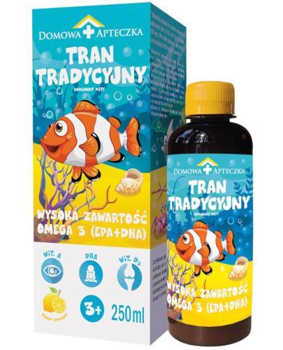 Domowa Apteczka tran tradycyjny cytrynowy 250 ml