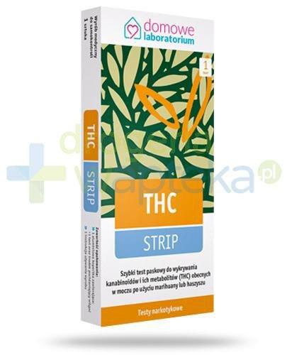 Domowe Laboratorium THC-Strip test do wykrywania narkotyków w moczu 1 sztuka