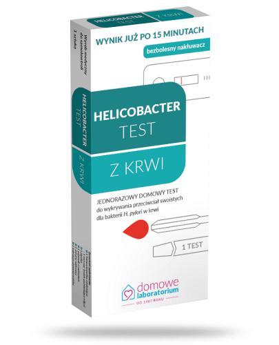 Domowe Laboratorium Helicobacter test z krwi 1 sztuka