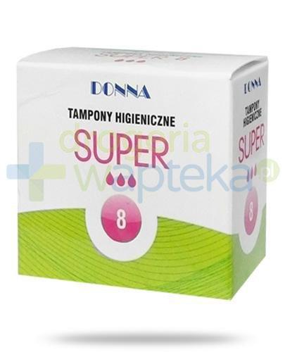 Donna Super tampony higieniczne 8 sztuk