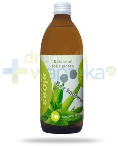 Donum Aloes sok z aloesu bez konserwantów 1000 ml