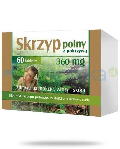Donum Naturea Skrzyp polny z pokrzywą 360mg 60 tabletek