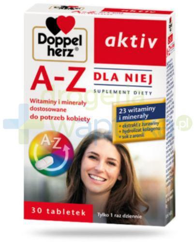 Doppelherz aktiv A-Z Dla Niej 30 tabletek