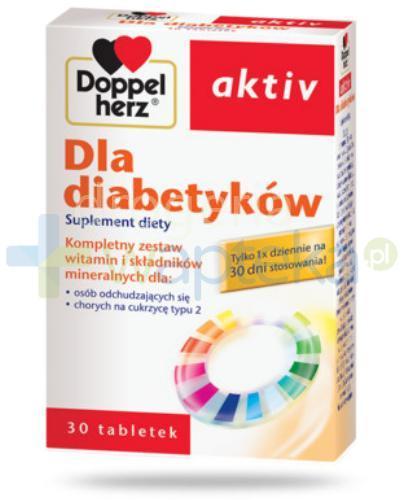 DoppelHerz Aktiv dla diabetyków 30 tabletek