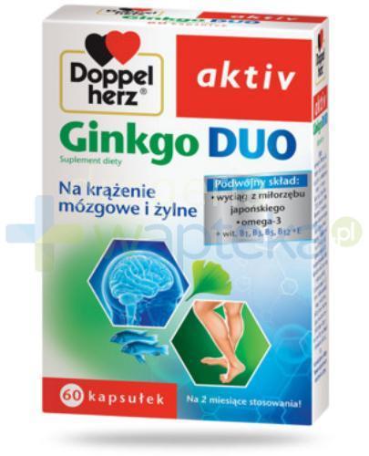 Doppelherz Aktiv Ginkgo Duo 60 kapsułek