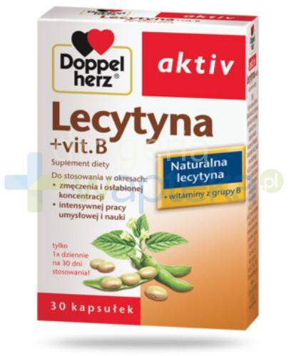Doppelherz Aktiv Lecytyna + Vit.B 30 kapsułek