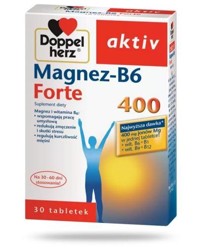 DoppelHerz Aktiv Magnez-B6 Forte 30 tabletek